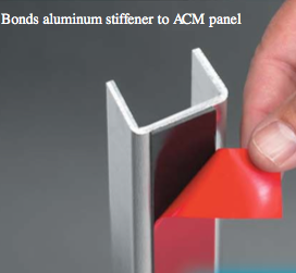 We Supply 3M VHB Tape to instal - Alucobond, Probond, Alucopanel, Di-Bond, Symonite & most other Aluminium Composite Panels
