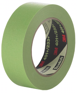 We Supply 12mm,18mm,24mm,36mm, & 48mm wide 3M Green Masking Tape throughout Australia