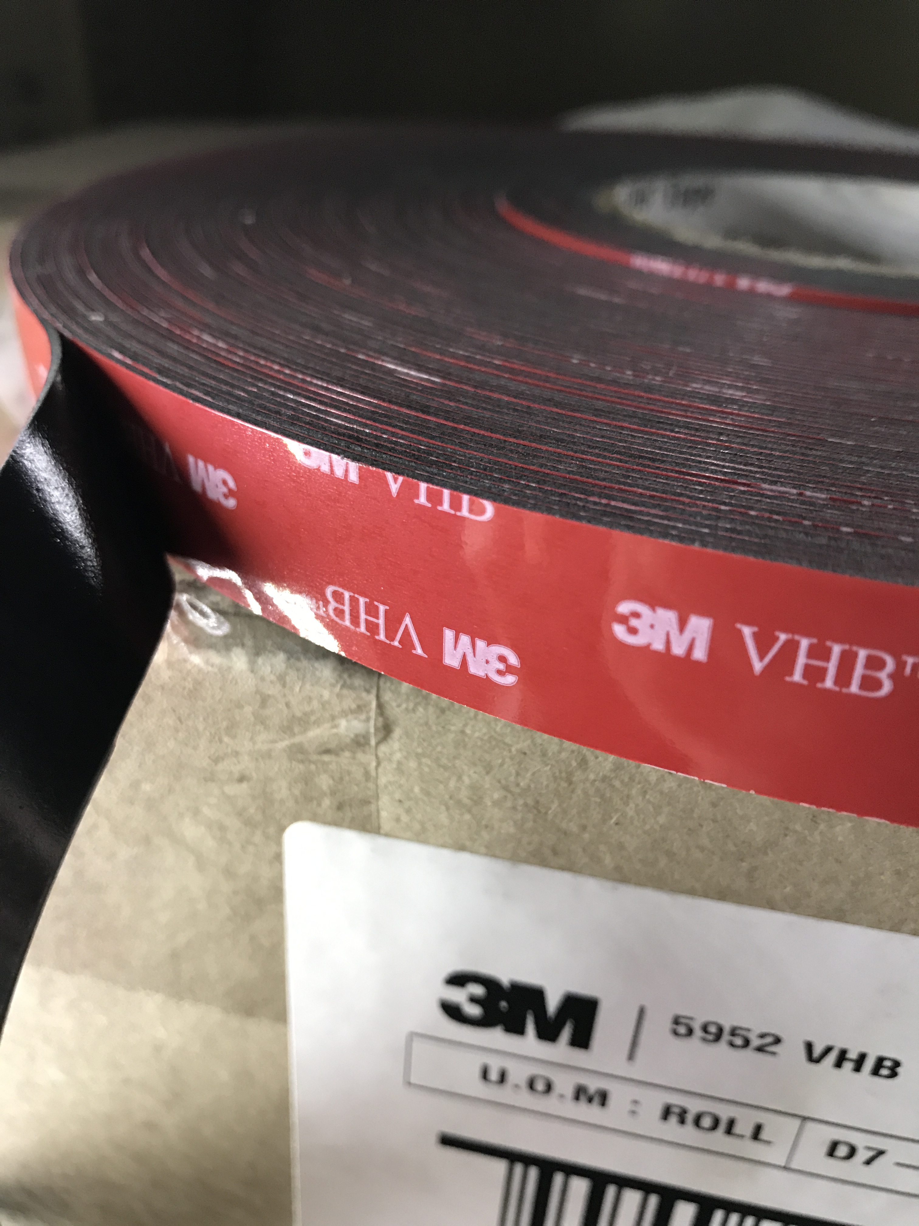 3M - 5952 VHB Tape (Double Sided)