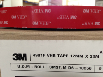 3M 4991 VHB (Very High Bond) Double Sided Tape