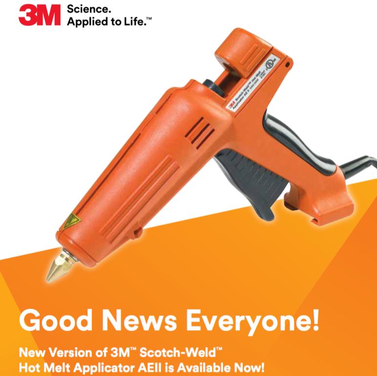 3M AEii Hot Melt Glue Applicator (Glue Gun)