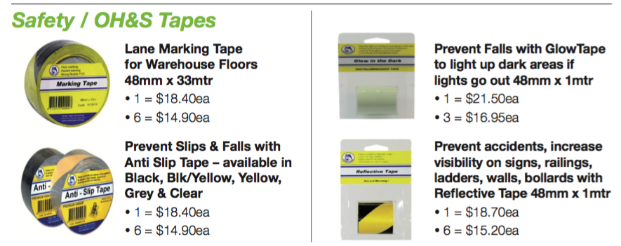 ETS - April - May 2016 Safety Tape Promotion