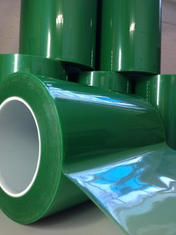 Green High Temperature Polyester Masking Tape