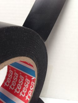 Tesa 51485 Black PVC Protection Tape