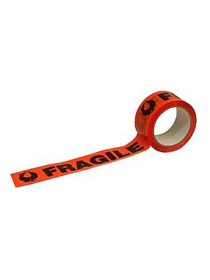 Fragile Tape - Black / Orange