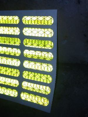 Die Cut Reflective Tape into Shapes / Pieces