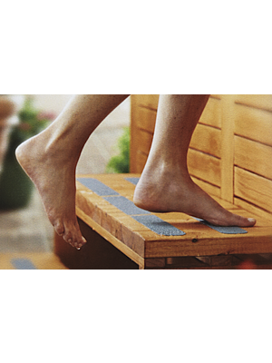 3M Resilient Non Slip Tape (designed for contact with bare feet)
