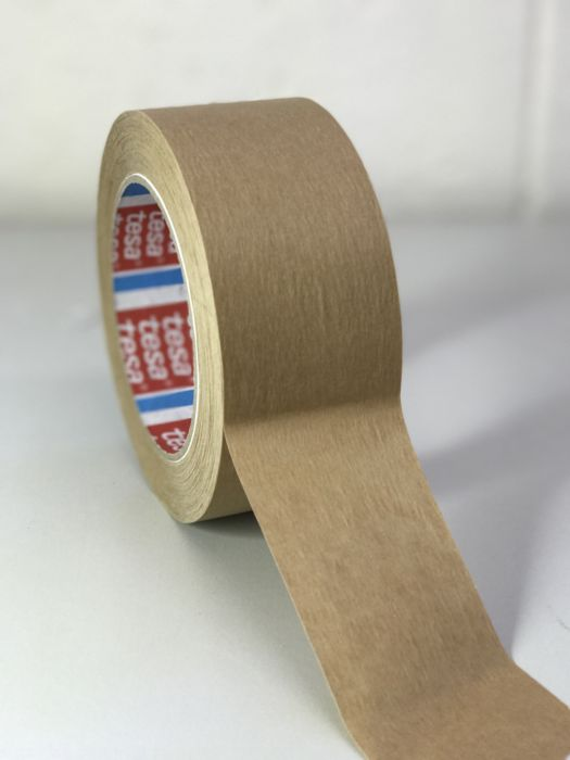 Tesa 4313 Brown Single Sided Packaging Tape 50m x 50mm