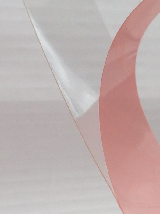 Tesa 4965 - Clear Double Sided Tape (Red Liner)