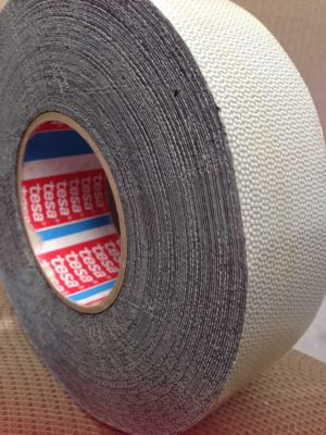 DImple Tape / Napped Rubber Tape - Tesa 4863 - Silicone rubber coated fabric tape with outstanding
