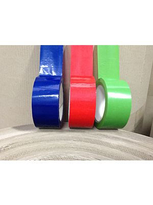 Coloured Packaging Tape - PVC