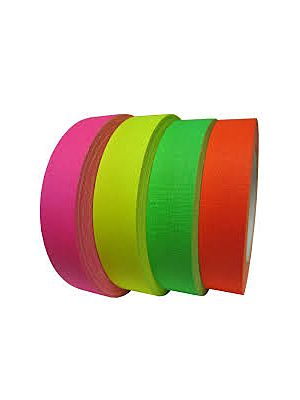 Fluro Colour Gaffer Tape - Neon Cloth Tape
