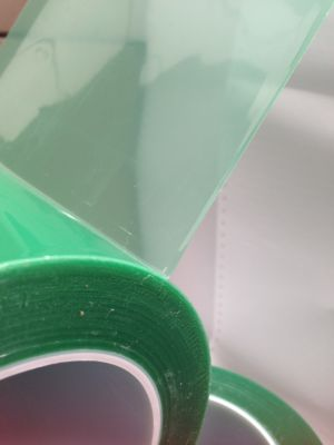 592 Green Polyester High Temperature Masking Tape (up to 204c)