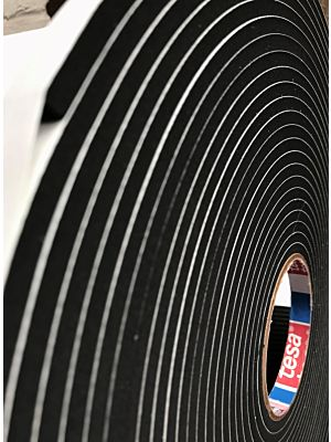 Tesa 61101 (1.6mm thick) Series EPDM Foam Tape is an – All round performer that excels in challenging environmental conditions.