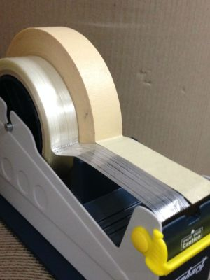 Heavy Duty Desk Dispenser (to take tape up to 50mm, or 2 rolls up to 24mm in width) - VH 448