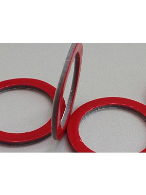 Die Cut Circles & Washers with Grey 3M High Bond (VHB) Double Sided Tape