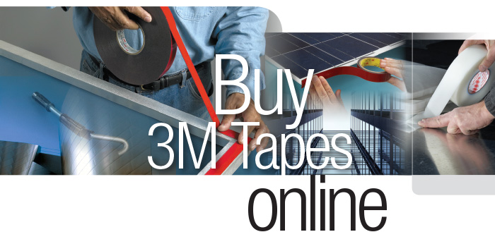 Check out our range of 3M Adhesive Tapes available for Online Order