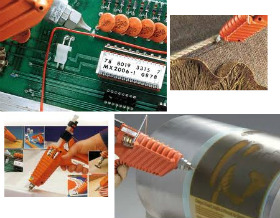 The 3M / Scotchweld range of Hot Melt Glues can be used for a multitude of applications as shown here