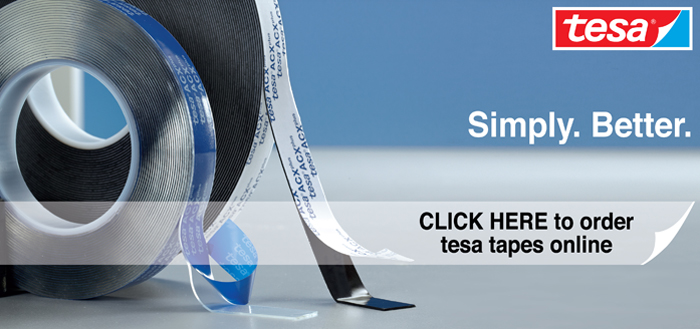 Check out our range of Tesa Tapes available for Online Order