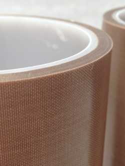 High Temperature Brown Teflon Tape for use on Heat Sealers + High Frequency