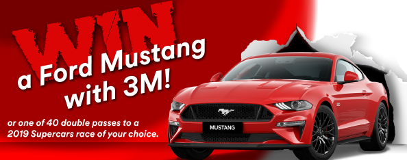 3M December 2018 Ford Mustang Competition