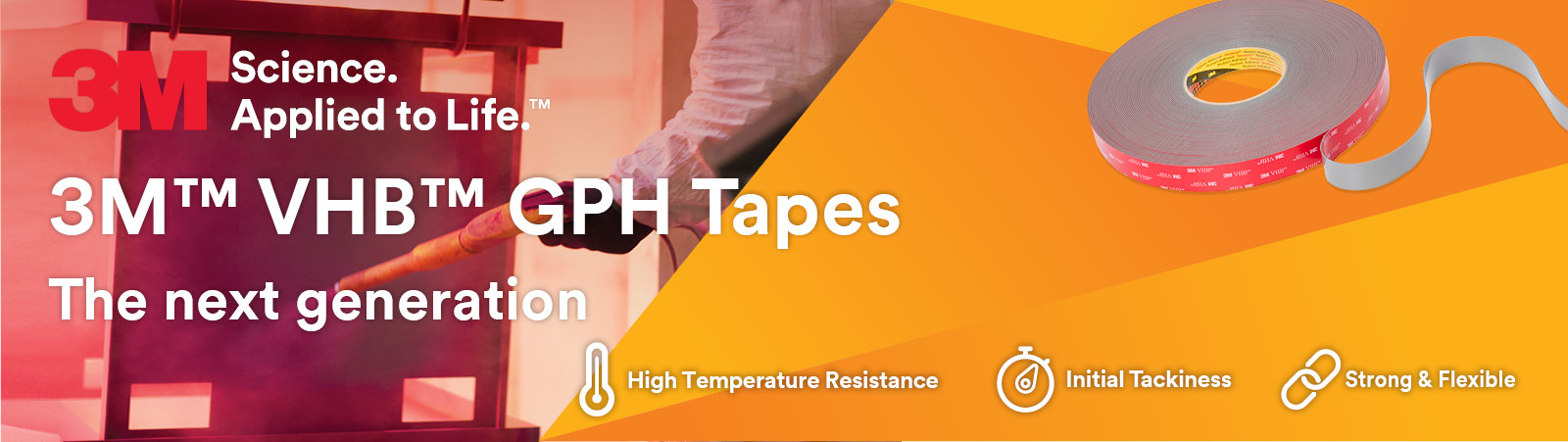 3M GPH - High Temp VHB Tape