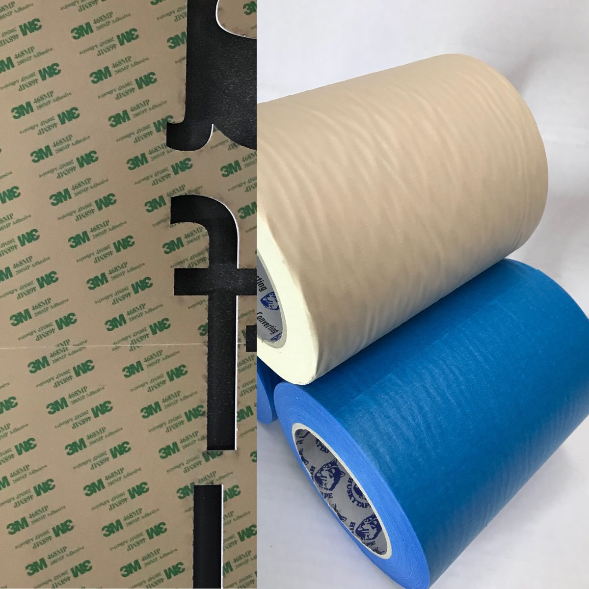 Adhesive Tapes Designed For Laser Cutting