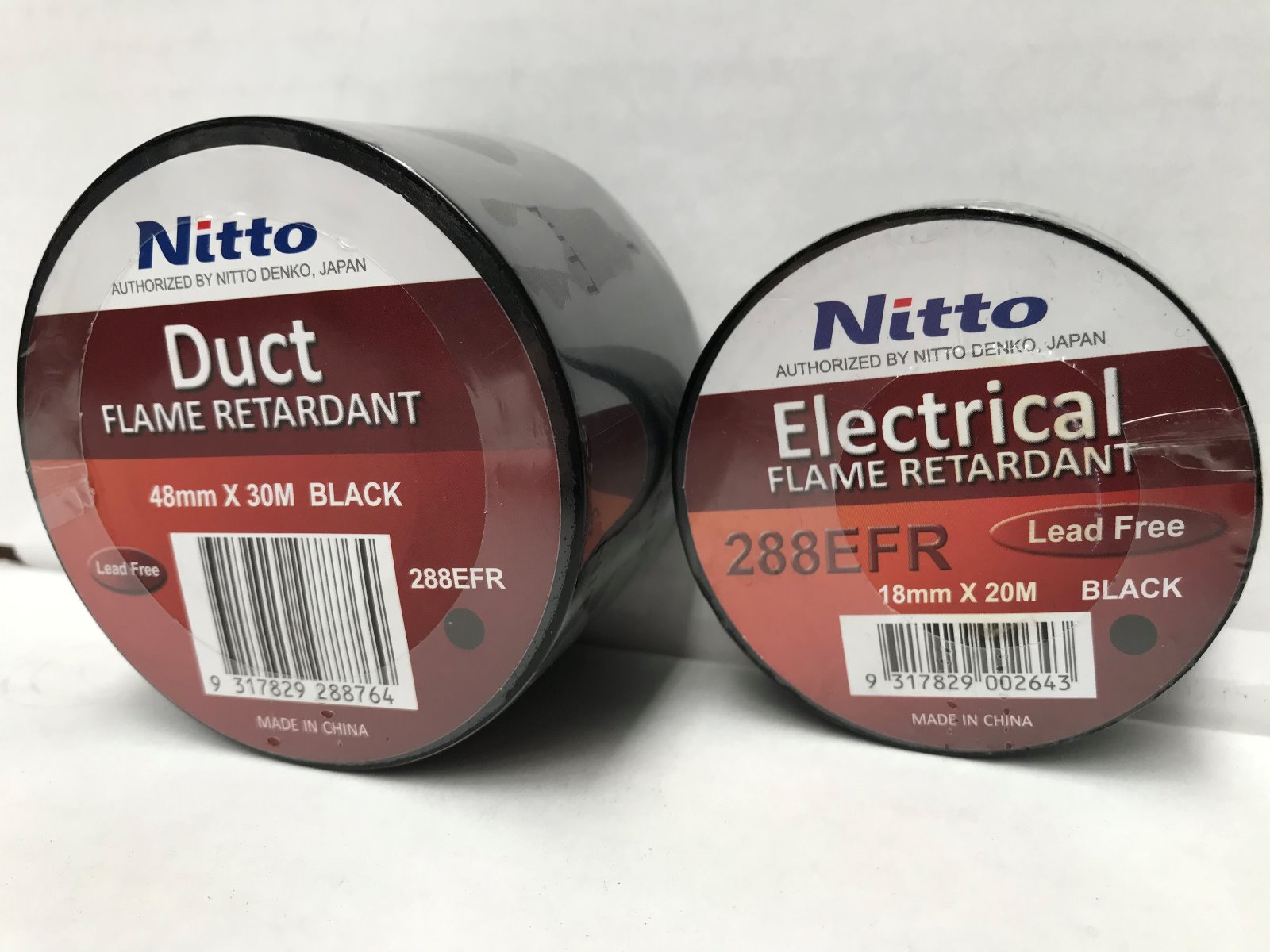 Nitto 288EFR Flame Retardant Electrical Tape & Duct Tape
